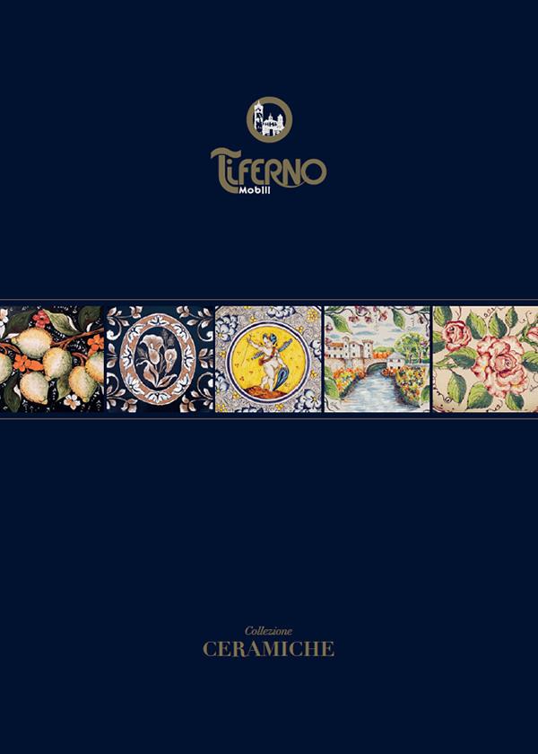 Copertina catalogo Ceramiche Tiferno