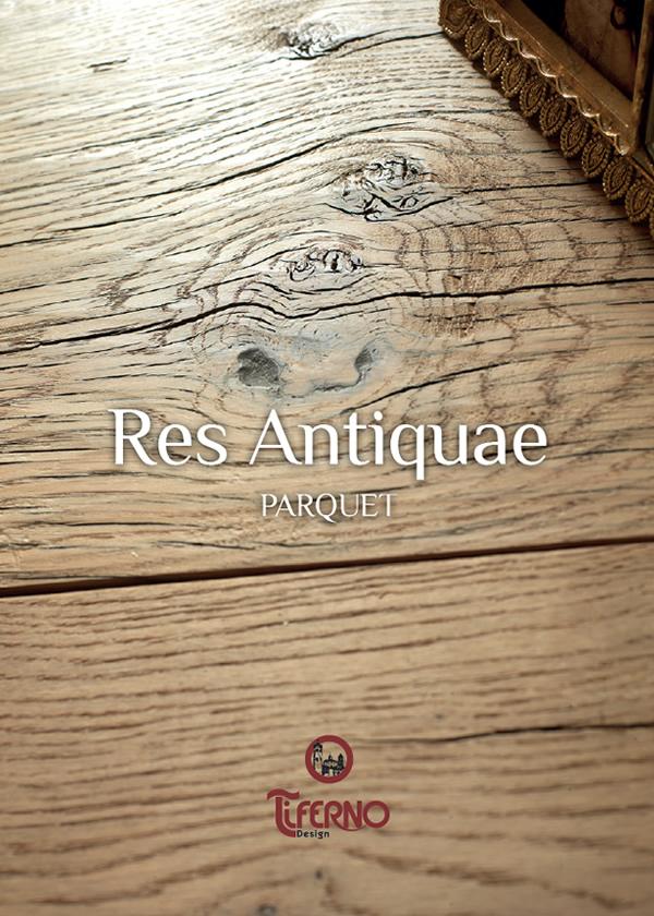 Copertina catalogo Res Antiquae - Parquet Tiferno