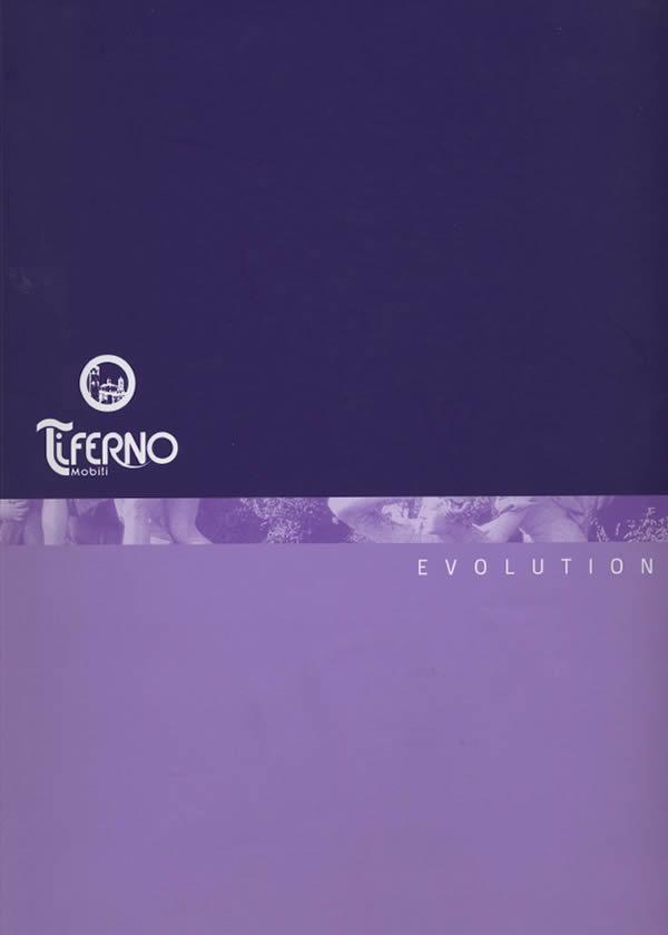 Copertina catalogo Evolution