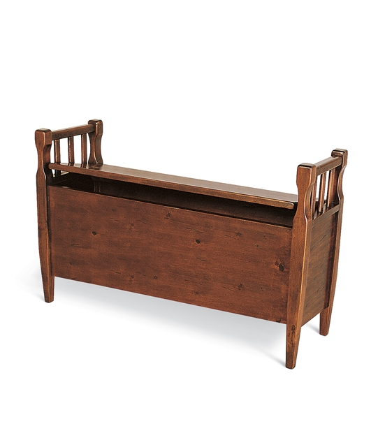 Bench with tapered legs