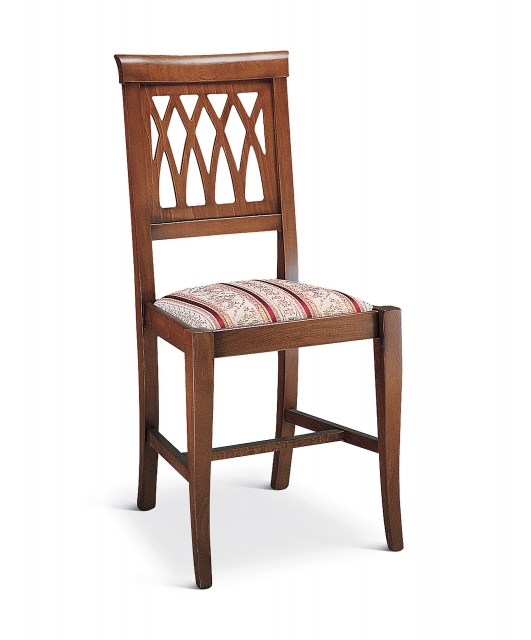 """""""Grata"""" chair with fabric seat"""