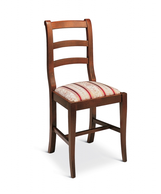 """""""Chiocciola"""" chair with fabric seat"""