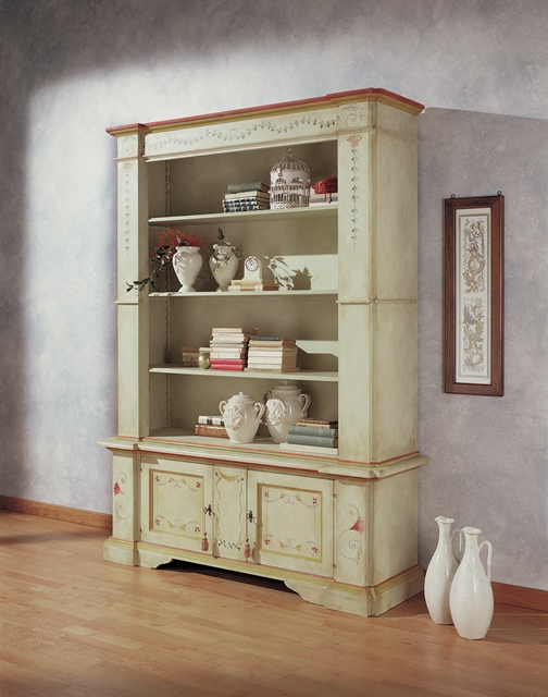 Bookcase with 3 shelves, 2 doors