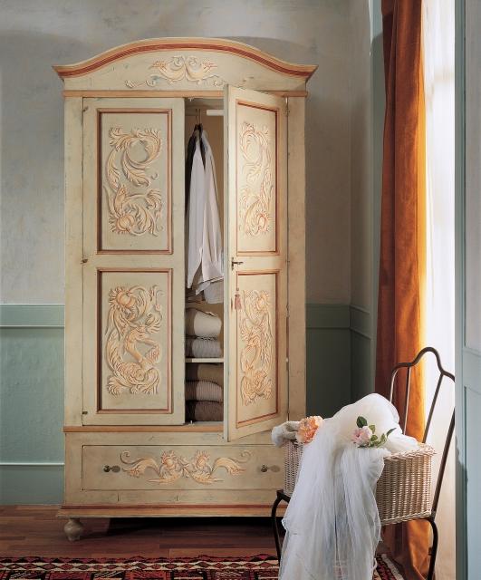 2-door wardrobe, 1 large drawer