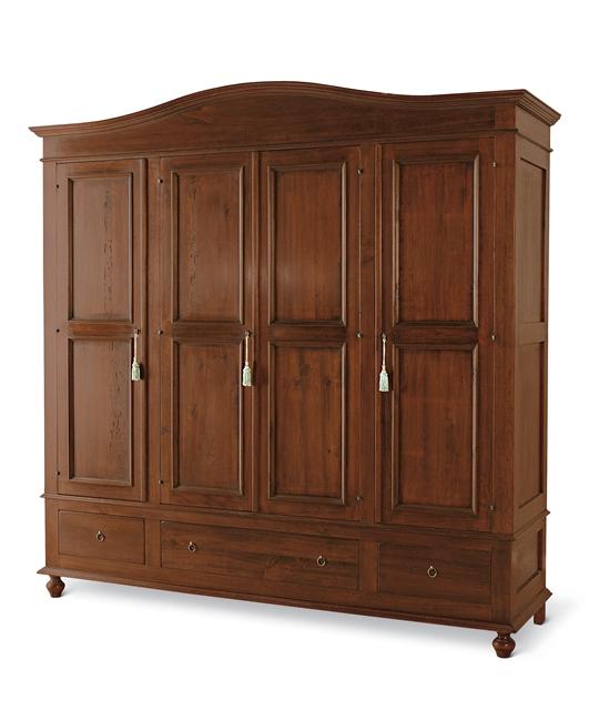 4-door wardrobe, 3 drawers