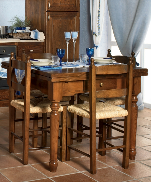 Extendable table with pastry board