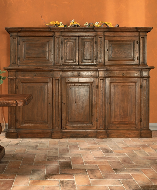 Sideboard with upper section