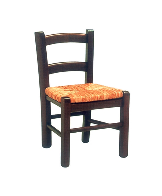 Small chair with two plain transoms