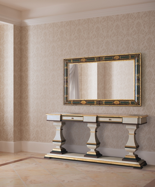 Balustrade console, 2 drawers