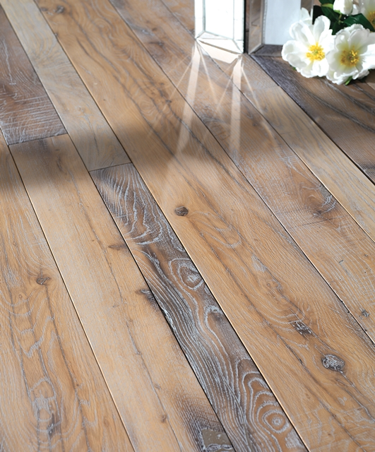 Antique oak made from over 100 years old beams