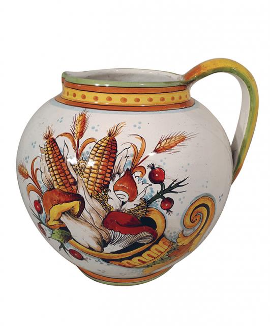 Cornucopia pitcher