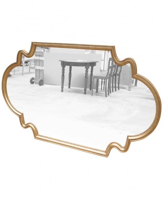 Customized shaped mirror