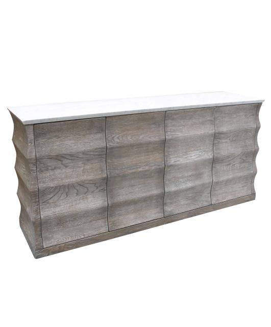 Rectangular shaped sideboard
