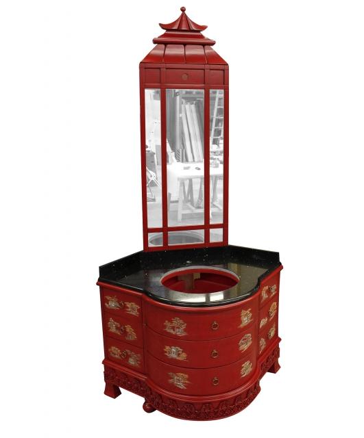 Customized Chinese style bathroom