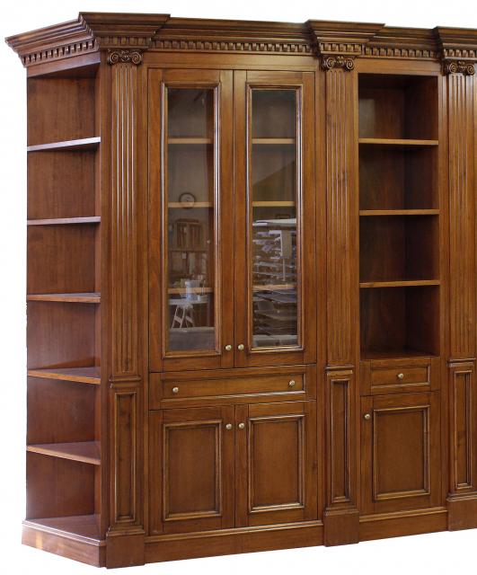 Whitehall style study bookcase
