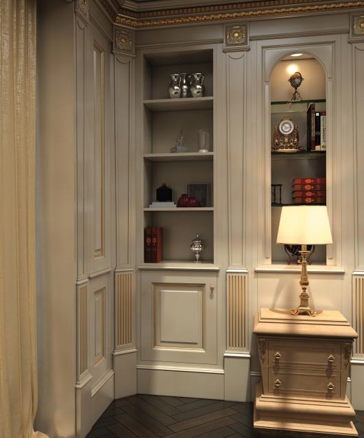 Walk-in closets & boiserie